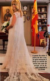 abaya wedding dress yolancris halamandari wore a yolan cris wedding