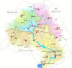 Volga River Map Dnieper River Basin Environment Programme Project Proposal