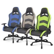 Race Chair Ikayaa Us Uk Fr Stock Racing Seat Gaming Chair Ergonomic Computer