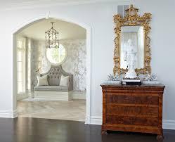Bedroom Wallpaper Borders Transitional Wallpaper Borders With Medium Wood Floors Bedroom