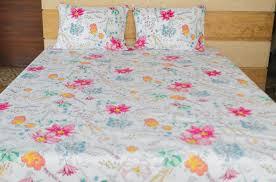 printed floral egyptian cotton bedsheet set u2013 apluslinen