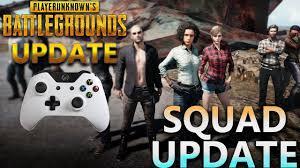 pubg 3 man squad xbox pubg xbox one new squad mode update play as a 3 man squad youtube