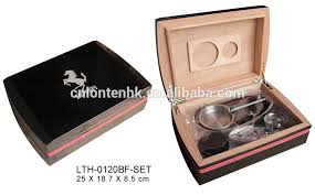 cigar gift set high gloss finish cigar box humidor cedar cigar