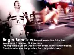 Roger Banister The Impossible Dream Roger Bannister Youtube