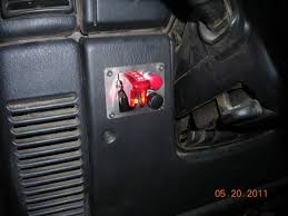 jeep wrangler light switch aux light switch location jeepforum com