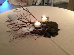 tree branches for centerpieces encore centerpieces rustic tree branches with moss encore creative