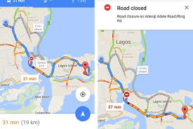 traffic map maps in nigeria now displays traffic data techcabal