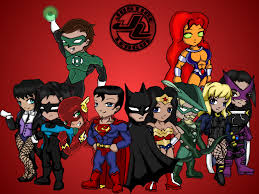 justice league unlimited deviantart more like justice league sd wallpaper by