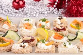 canape toast assortment of canape toast stock photo studiom 31271241