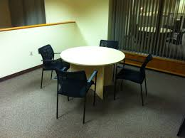 Maple Table And Chairs Maple Round Meeting Table Scp Office Furniture