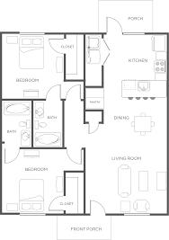 Floor Plan Of 2 Bedroom Flat 2 Bedroom Apartment Flat Floor Plan Wildwood Lubbock
