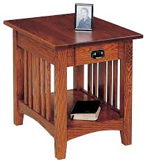 Woodworking Plans Bedside Table Free by Best 25 Mission Style End Tables Ideas On Pinterest Mission