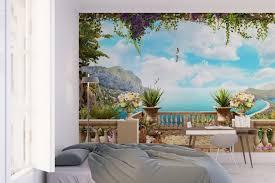 trompe l oeil chambre trompe l œil mural idées originales pour rehausser la sensation