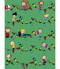 peanuts print fabric 57 snoopy friends with lights