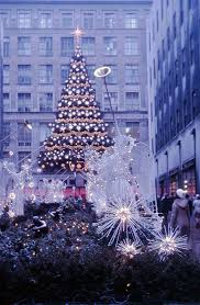 christmas trees in new york christmas lights decoration