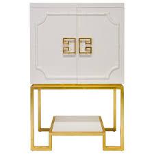 Gold Bar Cabinet Jonathan Adler Bar Cabinet Away Gold Trim White