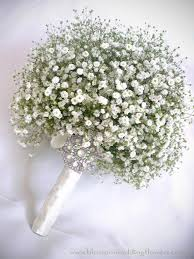 baby s breath bouquet baby s breath wedding blossoms