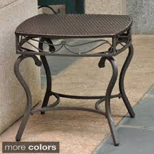 Metal Patio Side Table Wonderful Patio Side Table For Minimalist Interior Home Design