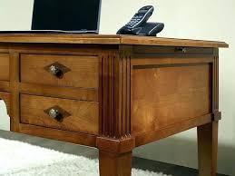 bureau bois massif blanc bureau en bois massif blanc 5 style morne socialfuzz me