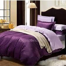 Purple Velvet Comforter Modern Velvet High End Lavender Comforter Sets Ogb14111103