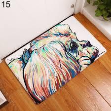 modern dog home entrance floor rug non slip doormat carpet door