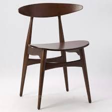 Black Walnut Dining Chairs Scandinavian Furniture White Oak Wood Dining Chair Ikea Minimalist