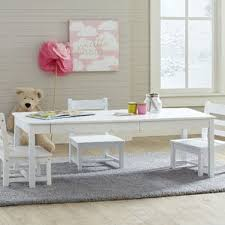 Kids Activity Table With Storage Modern Kids Table Chair Sets Allmodern