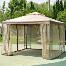 Gazebo With Awning Outdoor Canopies Canopy Tents Kmart
