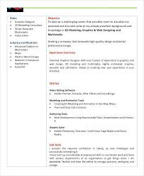 Summary For Fresher Resume Basic Fresher Resume Templates 4 Free Word Pdf Format Download