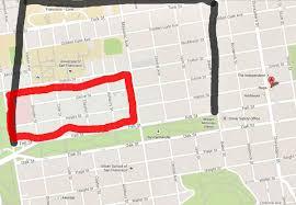 Ccsf Map Neighborhood San Francisco Citizen