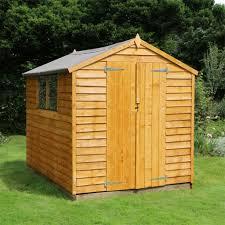 8 x 6 garden sheds buy online today
