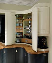 chic corner cabinets for kitchen pantry with full circle lazy