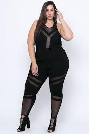 black mesh jumpsuit plus size mina mesh jumpsuit black curvy sense