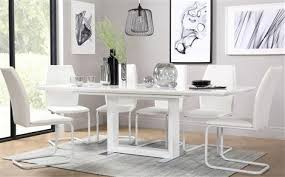 black table white chairs tokyo dining collection furniture choice