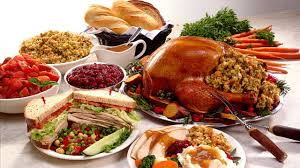 locations of free thanksgiving dinners in county
