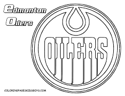nhl coloring page free download