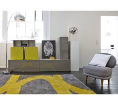 Tapis Gris But by Deco Salon Gris Jaune Design De Maison