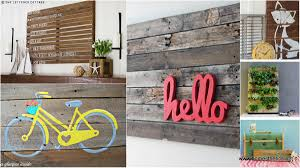 diy projects top 34 pallet wall art diy projects you will love