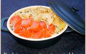 cuisiner des blanc de poulet recette poulet aux carottes et au vin blanc 750g