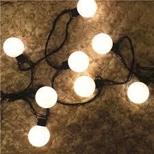 d50mm big string lights led garland decoration