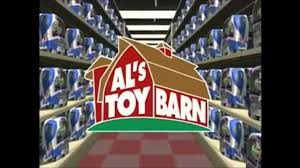 Al From Als Toy Barn Image Al U0027s Toy Barn Logo From The Buzz Lightyear Commercial Png