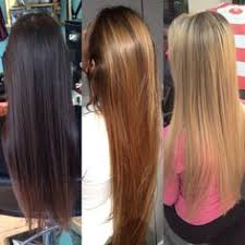 black hair to blonde hair transformations black to blonde 1 days work before and after pictures terry dunn