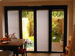 Patio Door Design Ideas Furniture Patio Sliding Door Design With Black Frame And Clear