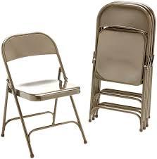 Target Metal Chairs by Amazon Com Virco 16213m Metal Folding Chairs Mocha Four Carton
