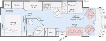 class a rv floor plans vista floorplans winnebago rvs