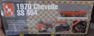 1970 Chevelle Interior Kit Amt Ertl 1970 Chevrolet Chevelle Ss 454 Model Kit 8940 Unbuilt Ebay