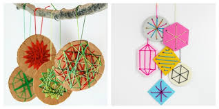 25 homemade christmas ornaments the whole family can make