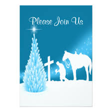 Cowboy Christmas Party Invitations - western holiday party invitations u0026 announcements zazzle
