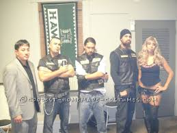 Samcro Halloween Costume Coolest Homemade Sons Anarchy Costumes