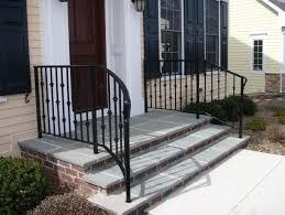 stair railing outdoor ideas best railings on porch deck designs